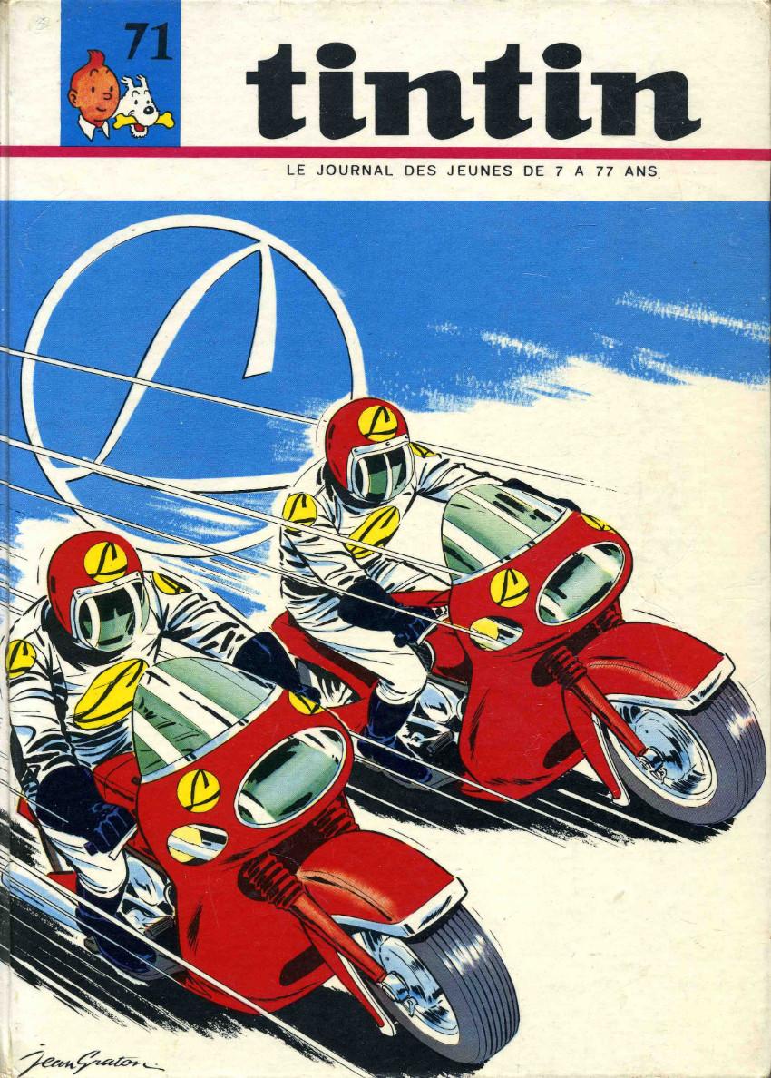 Couverture de (Recueil) Tintin (Album du journal - Édition française) -71- Tintin album du journal (n°947 à 959)