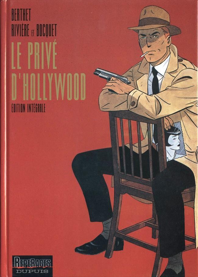 Couverture de Le privé d'Hollywood -INT- Intégrale