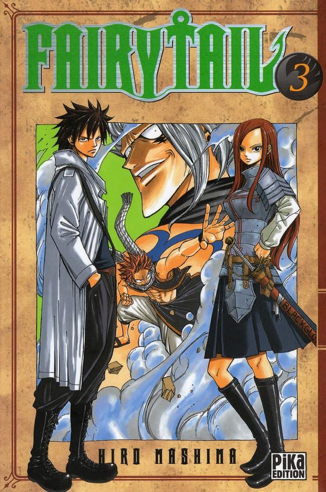 Couverture de Fairy Tail -3- Tome 3