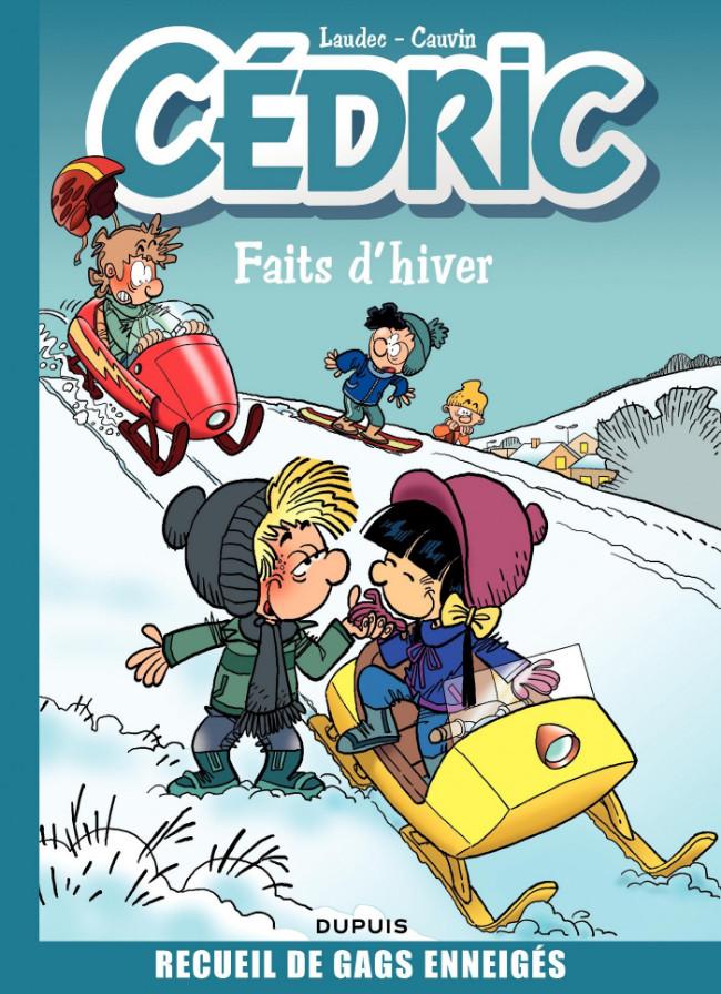 Couverture de Cédric -Compil1- Faits d'hiver - Recueil de gags enneigés