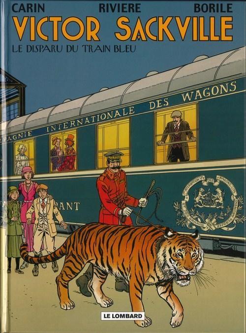 Couverture de Victor Sackville -21- Le disparu du Train bleu