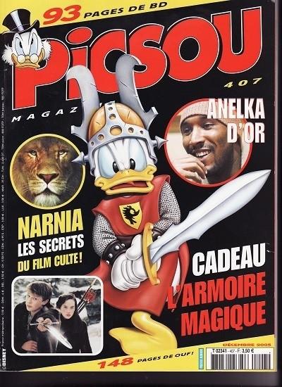 Couverture de Picsou Magazine -407- Picsou Magazine N°407