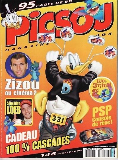 Couverture de Picsou Magazine -404- Picsou Magazine N°404