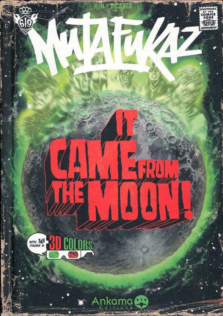 Couverture de Mutafukaz -0- It came from the moon !