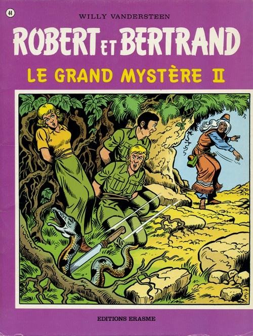 Couverture de Robert et Bertrand -44- Le grand mystère II