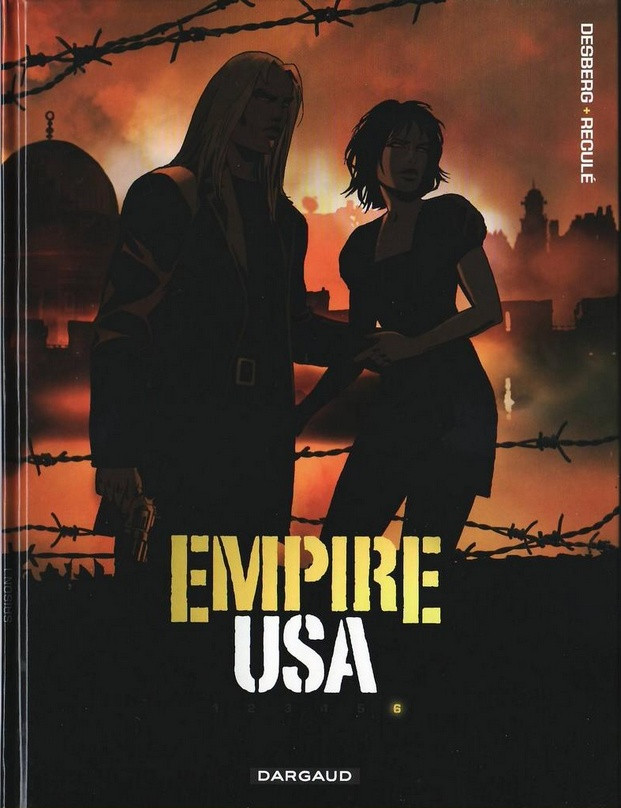 Couverture de Empire USA -6- Tome 6