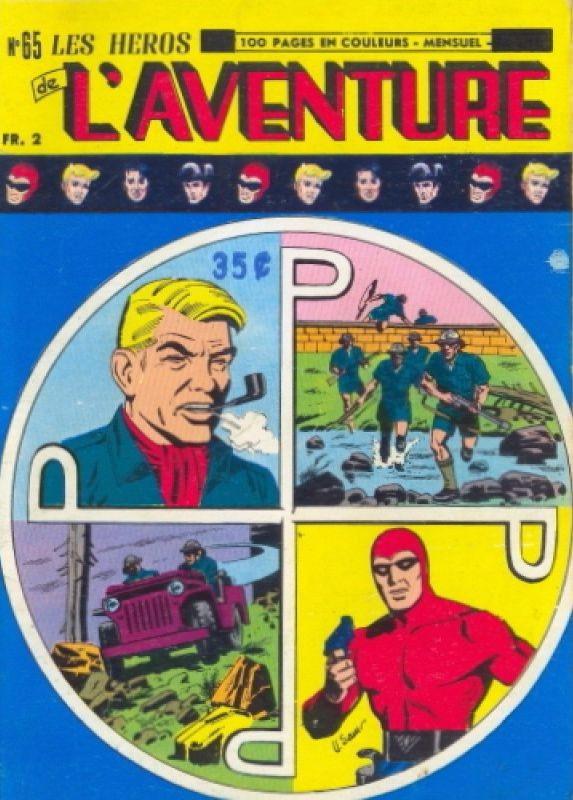Couverture de Les héros de l'aventure (Classiques de l'aventure, Puis) -65- Le Fantôme : Pour l'honneur de la patrouille