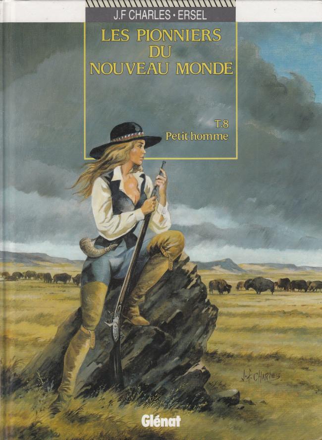 Couverture de Les pionniers du Nouveau Monde -8- Petit homme