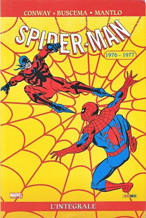 Couverture de Spectacular Spider-Man (L'intégrale) -1- Spider-man : l'Intégrale 1976-1977