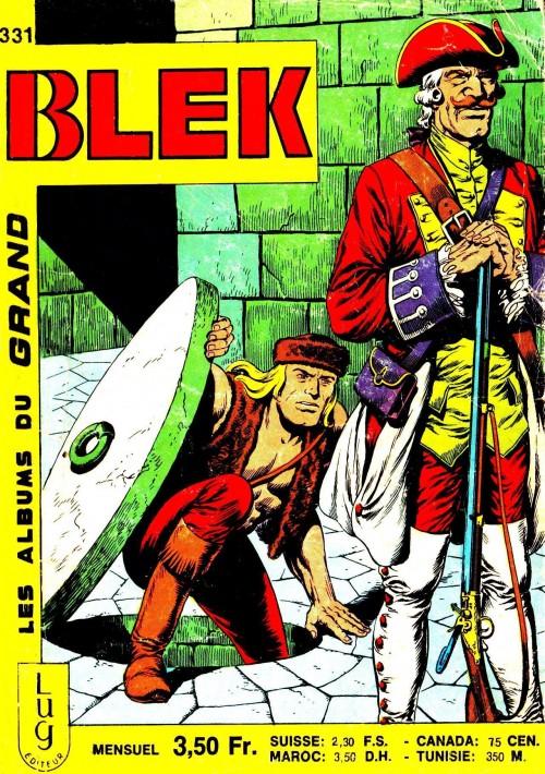 Couverture de Blek (Les albums du Grand) -331- Numéro 331