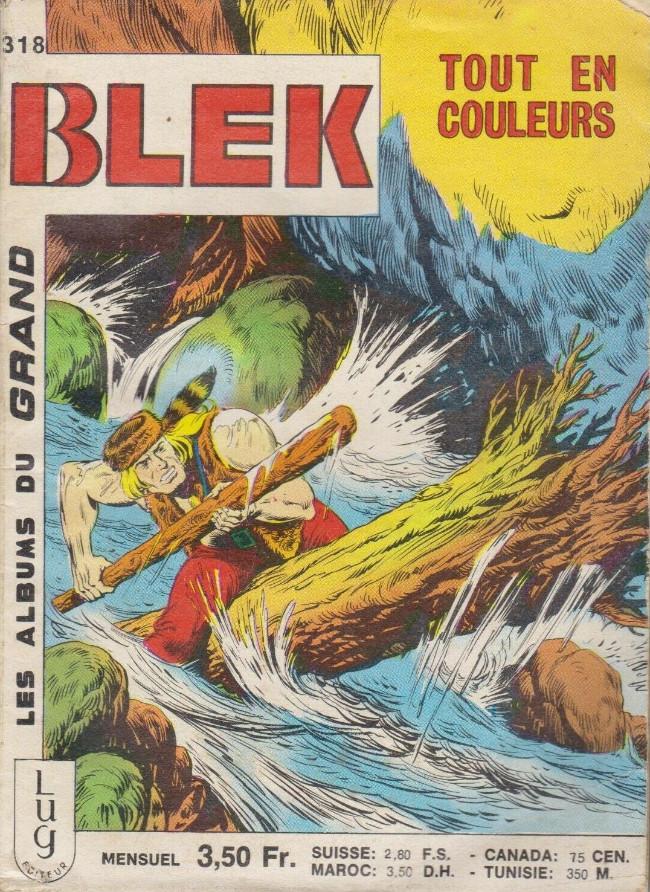 Couverture de Blek (Les albums du Grand) -318- Numéro 318