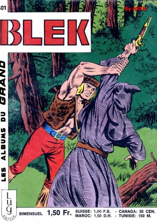 Couverture de Blek (Les albums du Grand) -301- Numéro 301