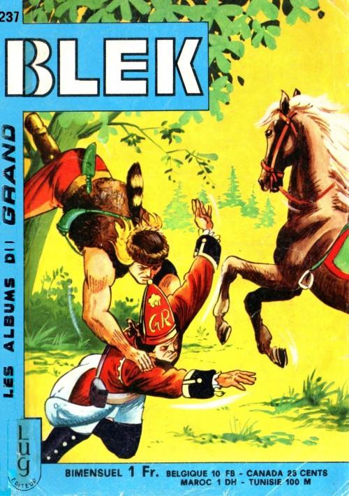 Couverture de Blek (Les albums du Grand) -237- Numéro 237
