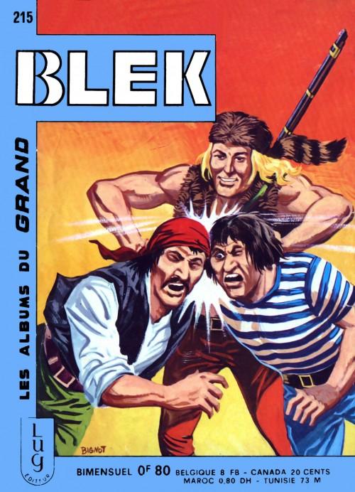 Couverture de Blek (Les albums du Grand) -215- Numéro 215