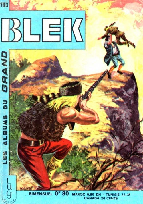 Couverture de Blek (Les albums du Grand) -193- Numéro 193