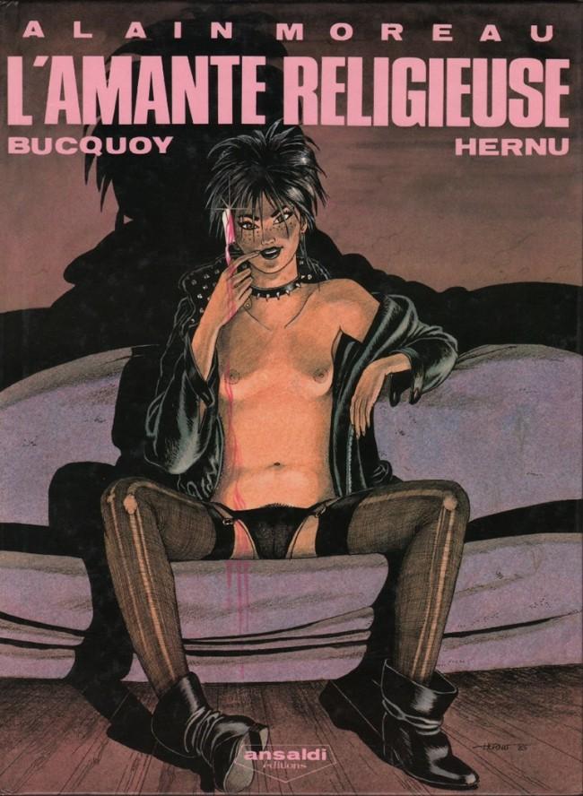 Couverture de Alain Moreau -3- L'amante religieuse