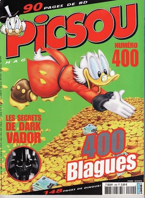 Couverture de Picsou Magazine -400- Picsou Magazine N°400