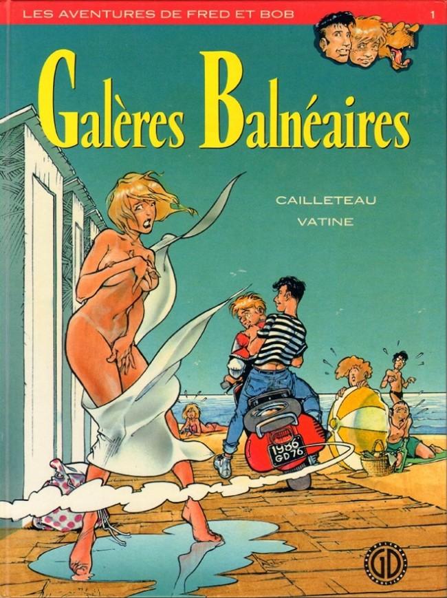 Couverture de Fred et Bob (Les aventures de) -1- Galères Balnéaires