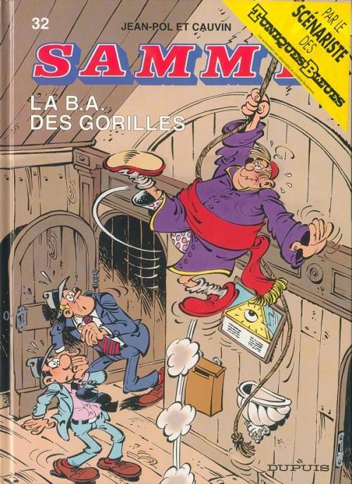 Couverture de Sammy -32- La B.A. Des Gorilles