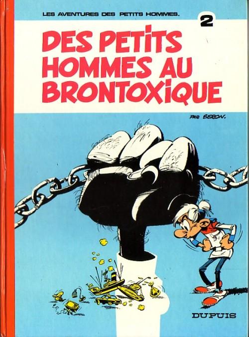 Couverture de Les petits hommes -2- Des petits hommes au brontoxique