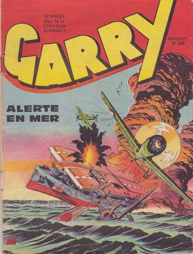 Couverture de Garry (sergent) (Imperia) (1re série grand format - 1 à 189) -135- Alerte en mer