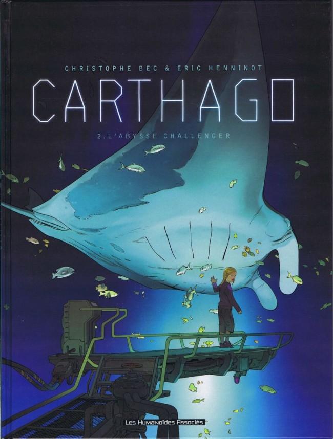 Couverture de Carthago -2- L'Abysse Challenger