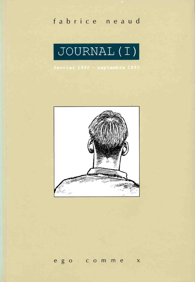 Couverture de Journal (Neaud) -1- Journal (I) février 1992 - septembre 1993