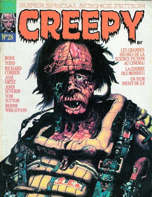 Couverture de Creepy (Publicness) -28- Super spécial science-fiction