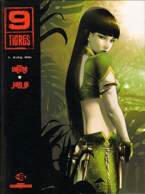 Couverture de 9 Tigres -1- Xiao Wei