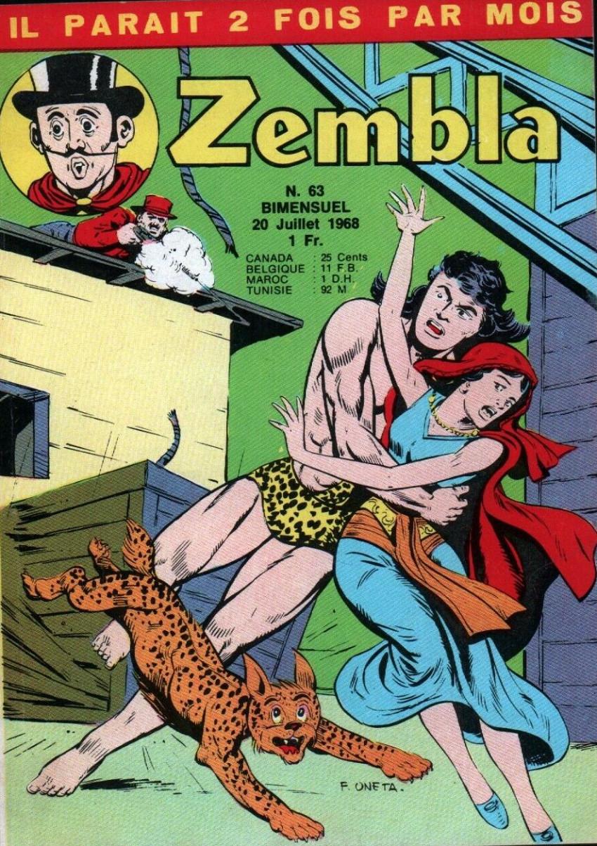 Couverture de Zembla -63- Une femme à abattre
