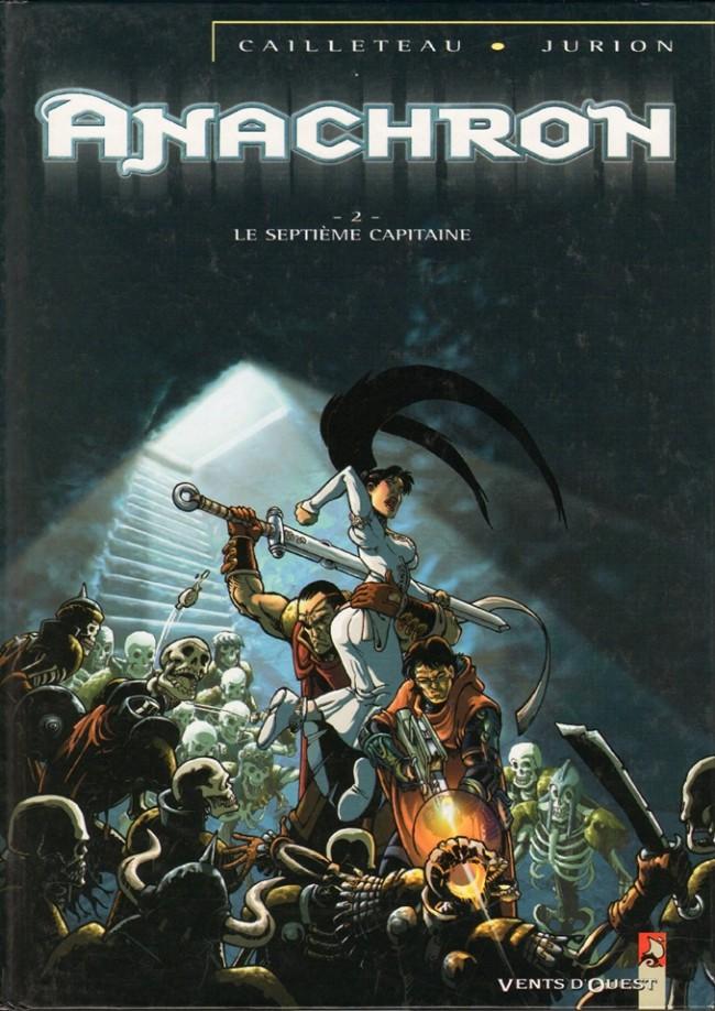 Couverture de Anachron -2- Le Septième Capitaine