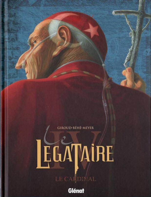Couverture de Le décalogue - Le Légataire -4- Le Cardinal
