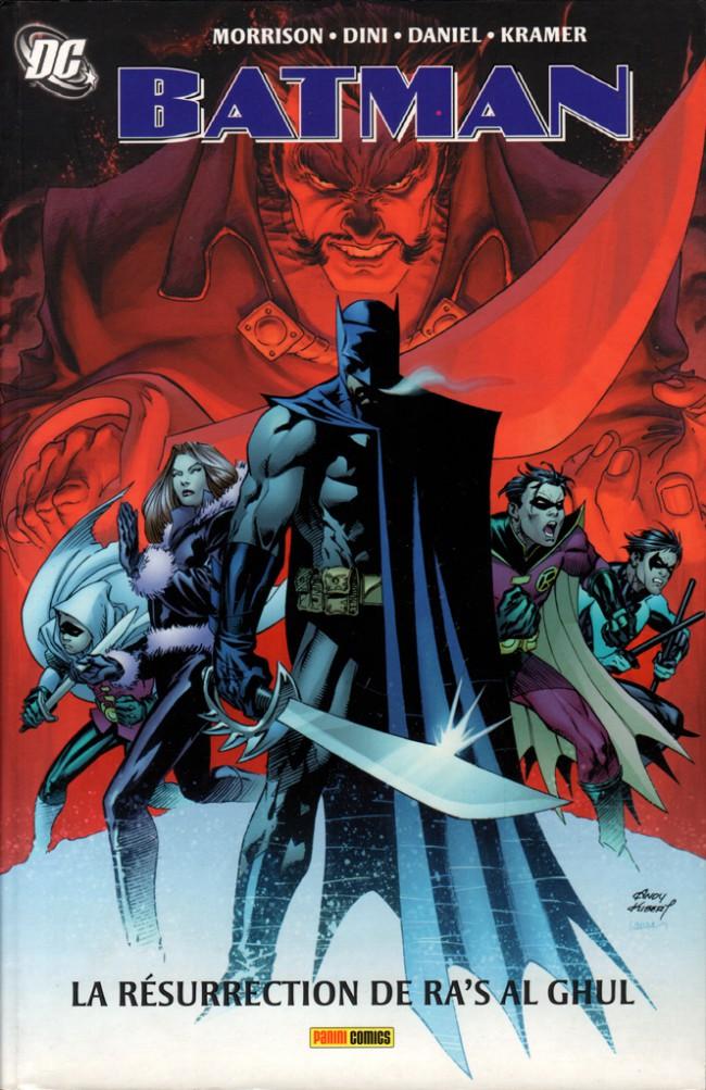 Couverture de Batman : La Résurrection de Ra's al Ghul - La Résurrection de Ra's al Ghul