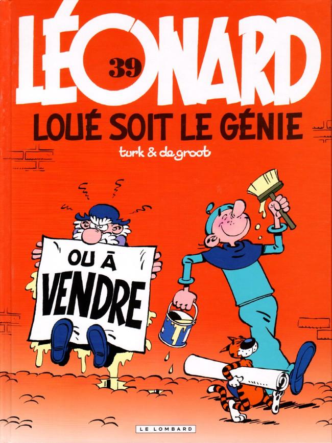 Couverture de Léonard -39- Loué soit le génie