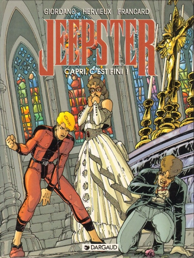Jeepster - les 3 tomes