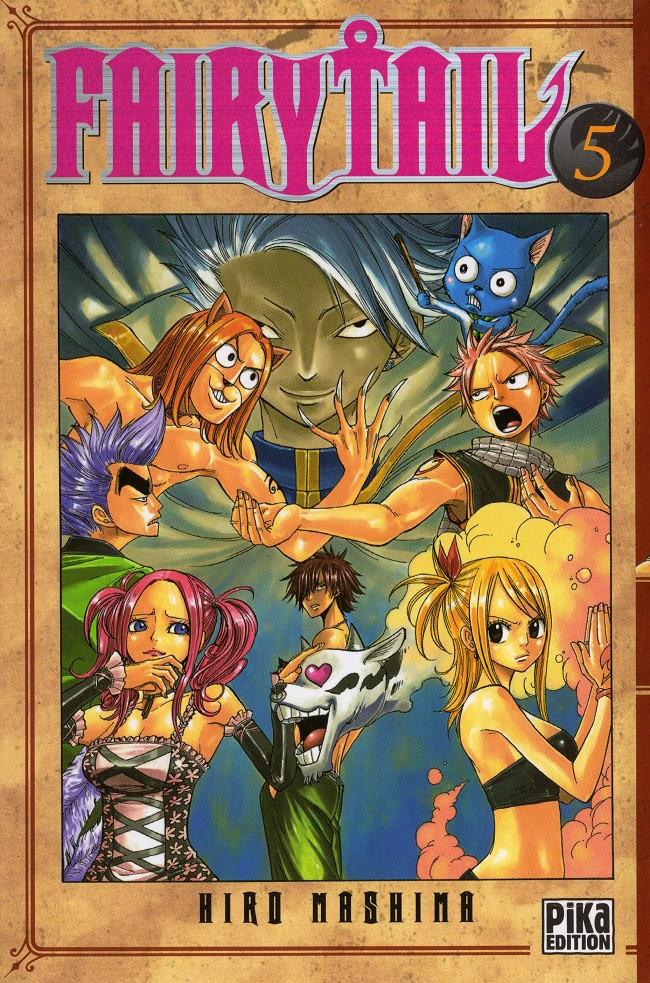 Couverture de Fairy Tail -5- Tome 5