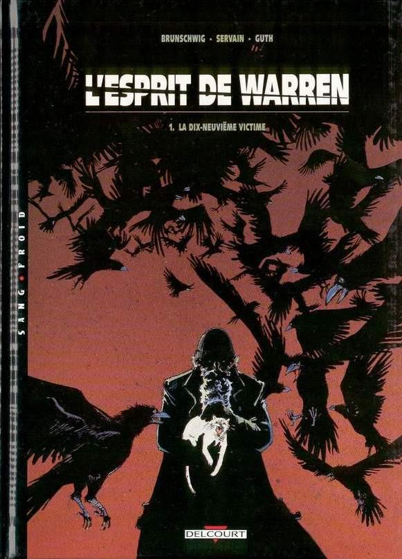 Couverture de L'esprit de Warren -1- La dix-neuvième victime