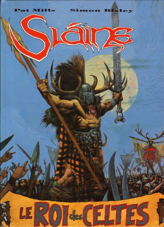 Couverture de Sláine -3- Le Roi des Celtes