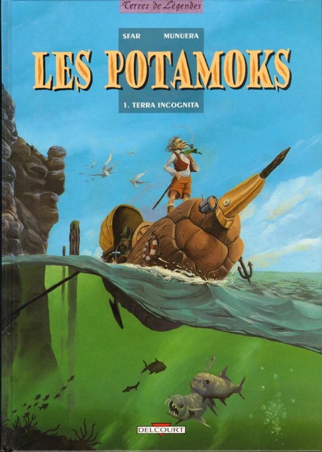 Couverture de Les potamoks -1- Terra Incognita