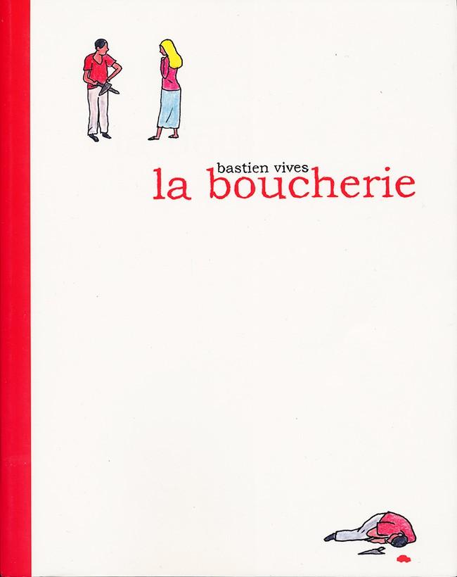 Couverture de La boucherie (Vivès) - La Boucherie