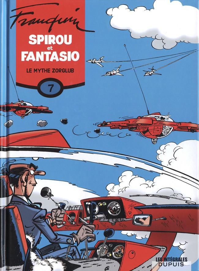 Couverture de Spirou et Fantasio -6- (Int. Dupuis 2) -7- Le mythe Zorglub (1959-1960)