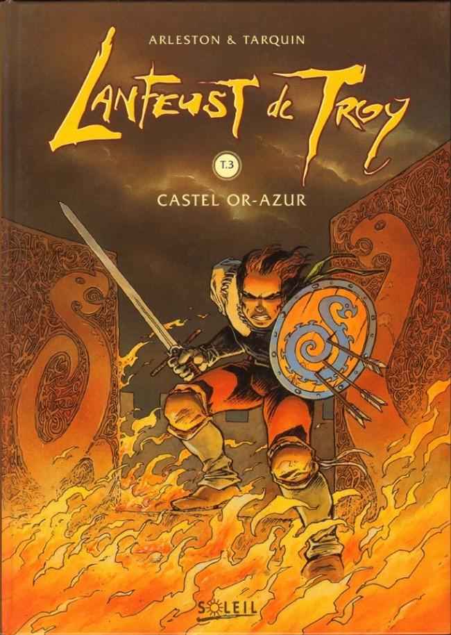 Couverture de Lanfeust de Troy -3- Castel Or-Azur