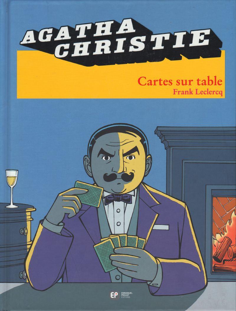 Couverture de Agatha Christie (Emmanuel Proust Éditions) -16- Cartes sur table