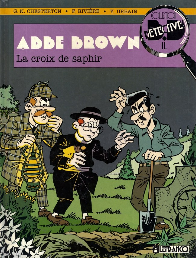 Couverture de Abbé Brown -1- La croix de saphir