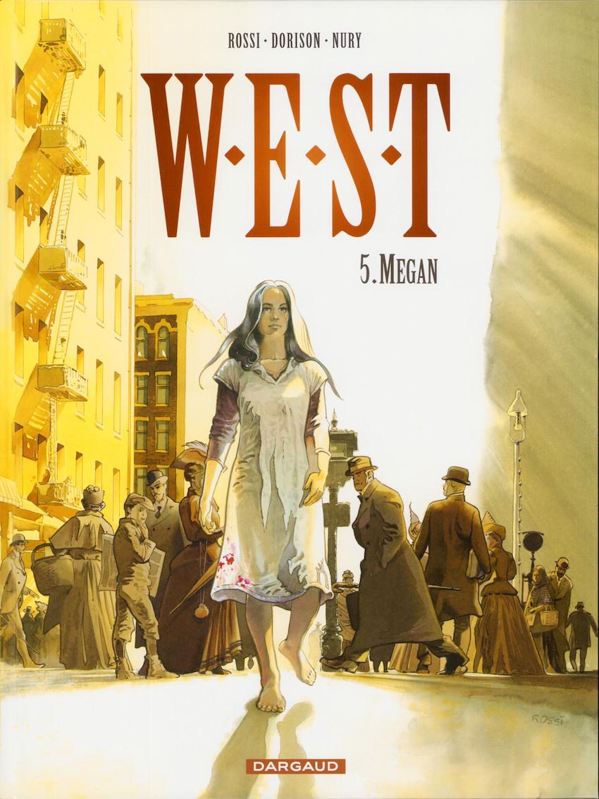 Couverture de W.E.S.T -5- Megan