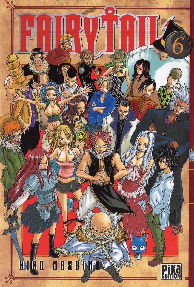 Couverture de Fairy Tail -6- Tome 6