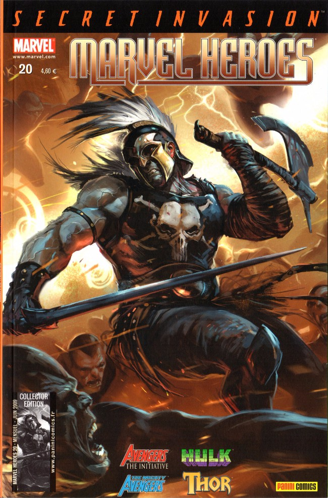 Couverture de Marvel Heroes (Marvel France - 2007) -20- Imbattable