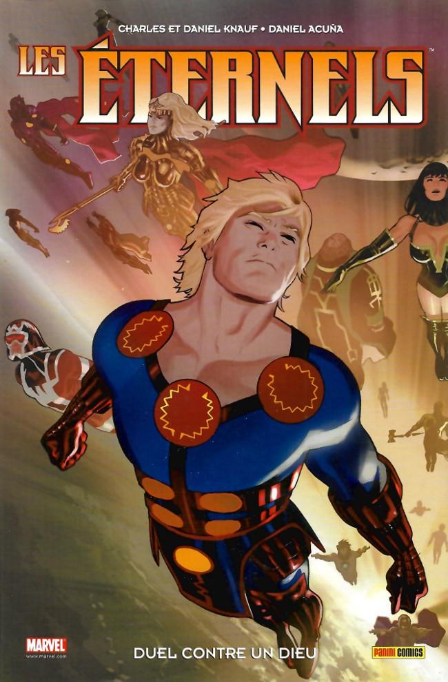 Couverture de Les Éternels (100% Marvel) -3- Duel contre un dieu