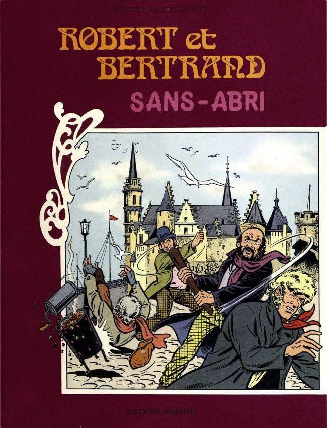 Couverture de Robert et Bertrand -HS1- Sans abri