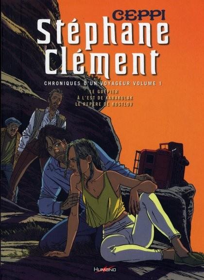 Couverture de Stéphane Clément -INT1- Le guêpier - À l'est de Karakulak - Le repère de Kostlov
